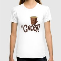 groot T-shirts featuring It's Groot by Gimetzco's Damaged Goods