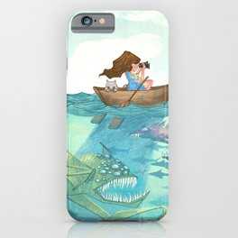 The Lake of Lurking Monsters iPhone Case