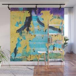Softly peeling paint Wall Mural