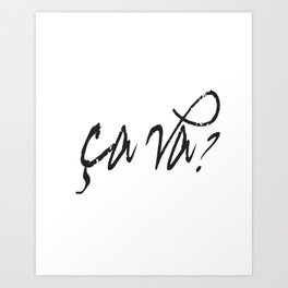 Personalised 'CAVA' Sign Art Print