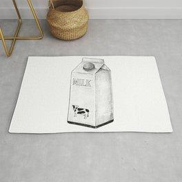 Milk Carton Sketch Rug