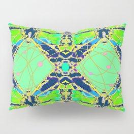 Art Deco Butterfly Fairy Abstract Pillow Sham