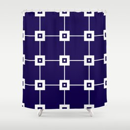Blue Crush No. 4 Shower Curtain