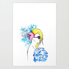 amen fashion Art Print