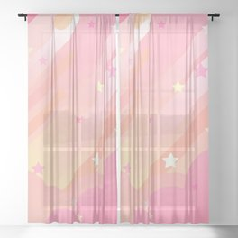 Steven Universo - Clouds Sheer Curtain