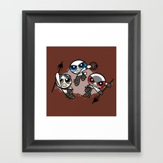 Power War Boys Framed Art Print