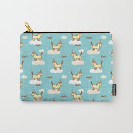 The Horse That Would Be Unicorn Carry-All Pouch