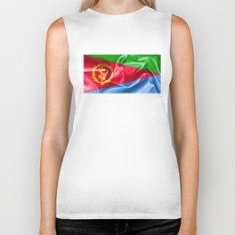 Eritrea Flag Biker Tank