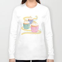 sprinkles Long Sleeve T-shirts featuring Sprinkles by Hayley Bowerman Design