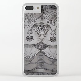 Sewn Clear iPhone Case