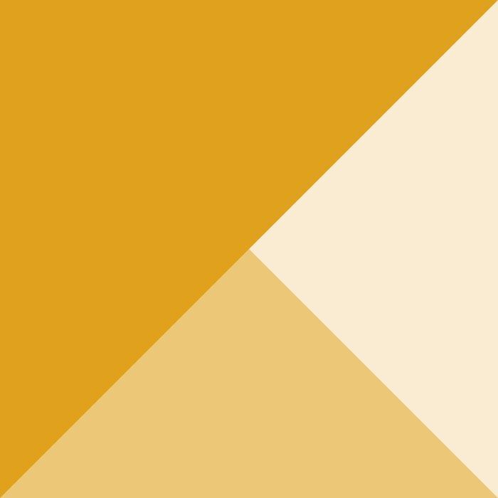 Mustard Tones Duvet Cover