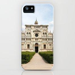 Certosa di Pavia iPhone Case