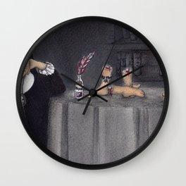 Juana de Asbaje Wall Clock