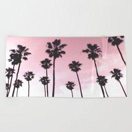 Palms & Sunset Beach Towel