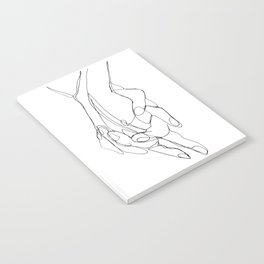 One Line Love Notebook