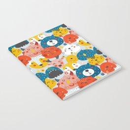 Monsters friends Notebook