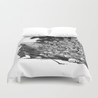 scary Duvet Covers featuring Scary Soul by bimorecreative