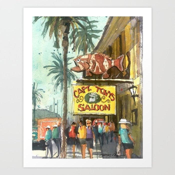 Captain Tony's, Key West Kunstdrucke