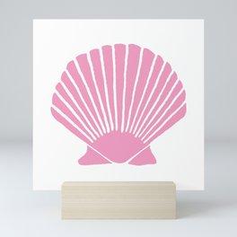 Light Pink Seashell Mini Art Print