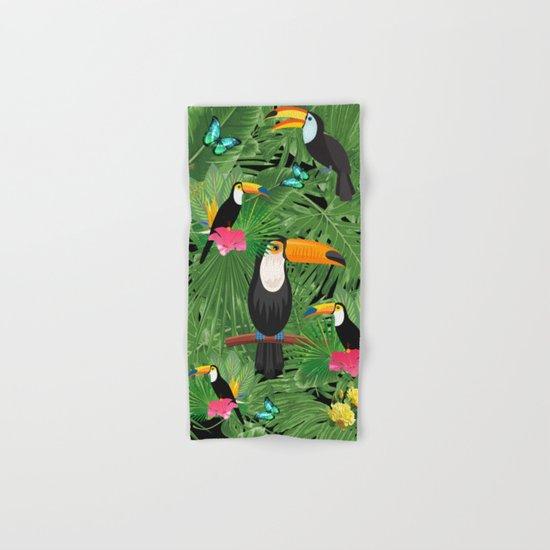 Toucan tropic  Hand & Bath Towel