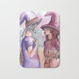witch friends Bath Mat
