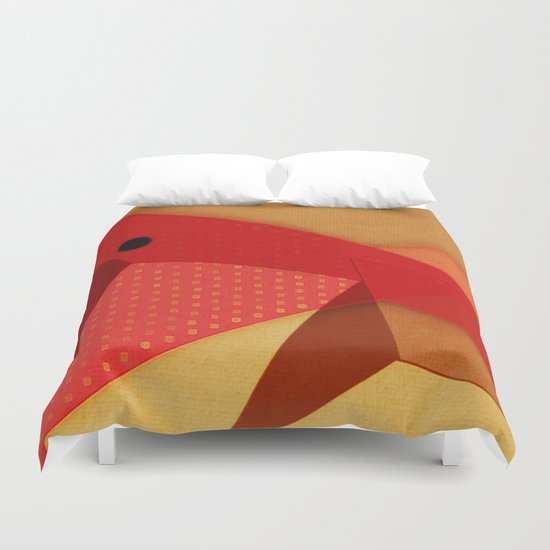 Sharpfish Duvet Cover