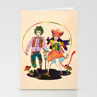 lsd Stationery Cards featuring LSD love by Natsuki Otani