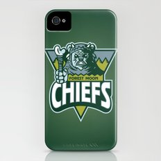 Forest Moon Chiefs - Green iPhone (4, 4s) Slim Case