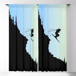 Ski Colors Blackout Curtain