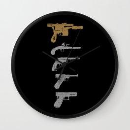 A long time ago with a blaster far, far away... Wall Clock
