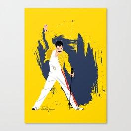 Freddie Forever Canvas Print