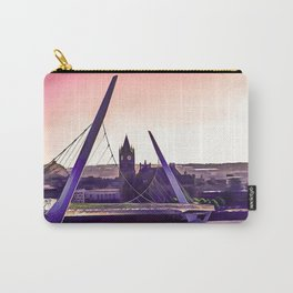 Derry / Londonderry Peace Bridge. (Painting.) Carry-All Pouch