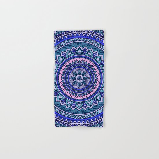 Hippie mandala 29 Hand & Bath Towel