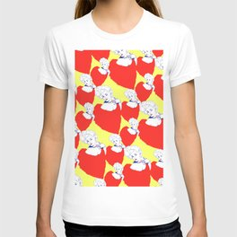 Stone Cold Fox - 'She Shoulda Said No' Poster Pattern T-shirt