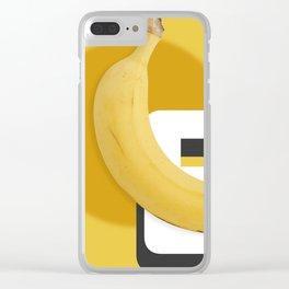 Banana love Clear iPhone Case