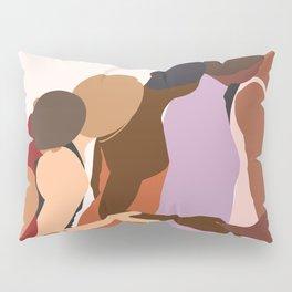 Women Supporting Women Art Print Pillow Sham