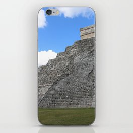 Chichen Itza Temple of Kukulcan south-west View iPhone Skin