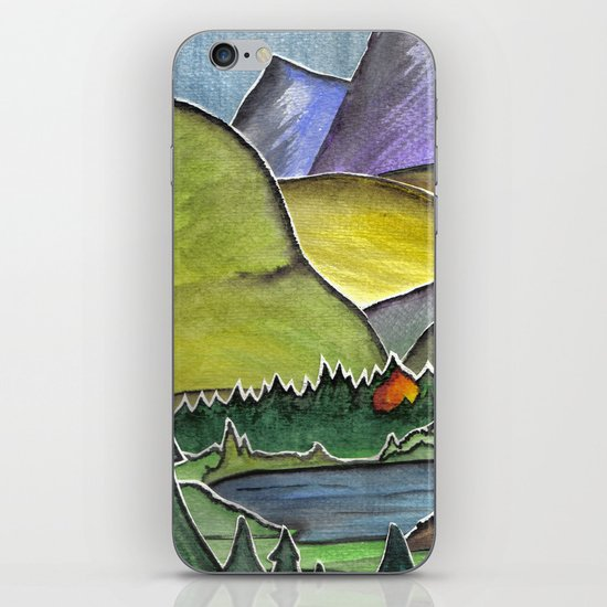 Forest Print. iPhone & iPod Skin