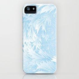 Winter background iPhone Case