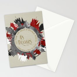 As Travars. For those who dream of stranger worlds. A Darker Shade of Magic. Stationery Cards