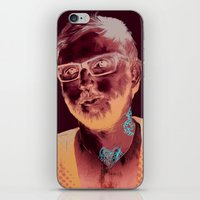 dallas iPhone & iPod Skins featuring Dallas Green by Copper Crown Art