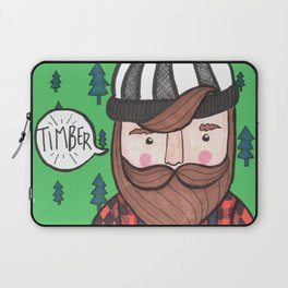 Timber Lumberjack Laptop Sleeve