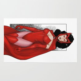 Scarlet Witch Rug