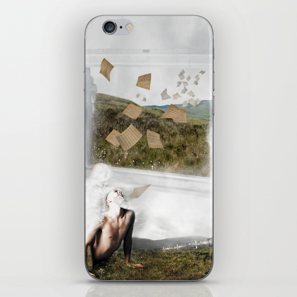 Advertizer Syndrome Iphone & Ipod Skin by Oneoftheclan PSK7849368