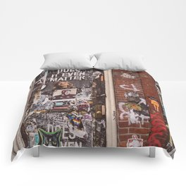 East Village Door Comforters
