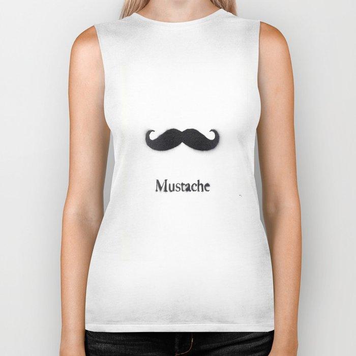Mustache Biker Tank