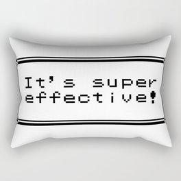 It's Super Effective! Rectangular Pillow