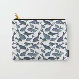 Cute Little Whale Print Carry-All Pouch
