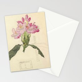 "Charles Rennie Mackintosh ""Flowers & Plants"" (2) Stationery Cards"