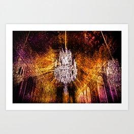 Hall Of Mirrors Art Print